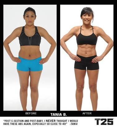 Tania results T25